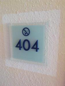 彼女の部屋404(not found)なんてね